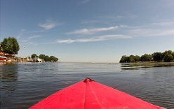 Kayaking Lake Erie Metropark