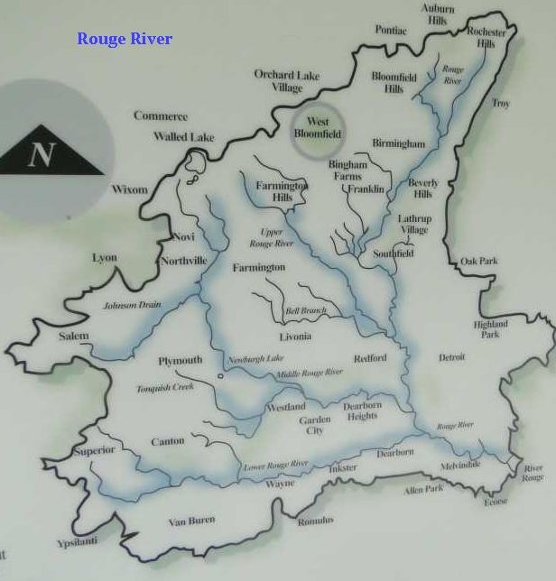 Bloomfield Michigan Map.West Bloomfield Trail West Bloomfield Orchard Lake Mi